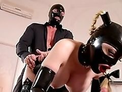 BDSM, Big Tits, Blonde, Boots, Close Up, Cosplay, Cumshot, Doggystyle, Fake Tits, Fetish,