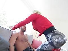 Big Tits, Blonde, Blowjob, Doggystyle, Hardcore, Lingerie, MILF, Missionary, Nude, Pornstar,