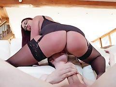 Big Ass, Big Tits, Blowjob, Boy, Cum On Tits, Cumshot, Fake Tits, Glasses, HD, Huge Cock,