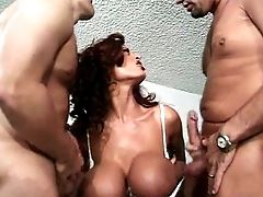 Big Tits, Donita Dunes, Double Penetration, Threesome, Wife,