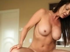 Ass, Big Tits, Blowjob, Brunette, Cougar, Cumshot, Deepthroat, Dick, Felching, HD,
