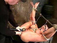 BDSM, Blonde, Charisma Cappelli, Cum, Huge Tits, Nipples, Sexy, Squirting,