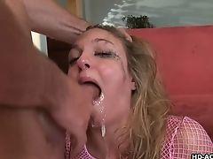 Blowjob, Choking Sex, Deepthroat, Fishnet, Foursome, Hardcore, Lexi Love, Long Hair, Natural Tits,