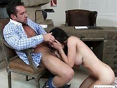 Ass, Blowjob, Cute, Handjob, Hardcore, Kendall Karson, Missionary, Office, Oral Sex, Panties,