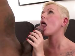 Big Black Cock, Fucking, Granny, Hardcore, Interracial, Pussy, Rough, Short Haired,