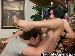 Big Tits, Bold, Brunette, Facial, Hardcore, HD, Latina, Rebeca Linares, Spanish,