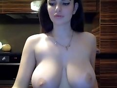 Amateur, Big Natural Tits, Kissing, Webcam,