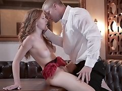 Babe, Bar, Blowjob, Czech, European, Ginger, Hardcore, Skinny, Slim, Tall,