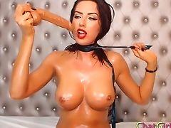Ass, Babe, BDSM, Big Ass, Big Tits, Cute, Deepthroat, Dildo, Huge Dildo, Pussy,