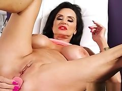 Big Tits, Butt Plug, Granny, Masturbation, Mature, Sex Toys,