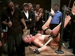 Ass, Babe, BDSM, Bondage, Brunette, Hardcore, Humiliation, Public, White, Young,