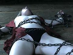 Ashley Lane, Babe, BDSM, Bondage, Chained, Fetish, Stranger,