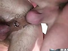 Anal Sex, Bareback, Big Cock, Blowjob, Caucasian, Couple, Cumshot, Ethnic, Oral Sex, Piercing,