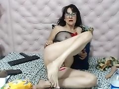 Big Tits, Granny, Masturbation, Moaning, Old,