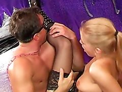 Anal Sex, Ass Fucking, Blonde, Couple, Cowgirl, Fetish, Fingering, Hardcore, Horny, Licking,
