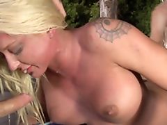 Ass, Big Tits, Blonde, Bold, Clamp, Couple, Cowgirl, Face Fucking, Fake Tits, Hardcore,