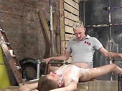BDSM, Bondage, Cute, Punishment, Twink, Wax,