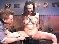 Anal Sex, Ass Fucking, BDSM, Big Tits, Bondage, Brunette, Chanel Preston, Couple, Date, Hairy,