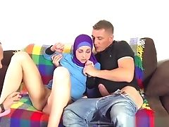Anal Sex, Arab, Blowjob, Brunette, Hardcore, HD, Maid,
